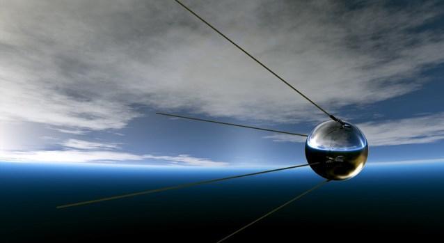 Los satélites artificiales.