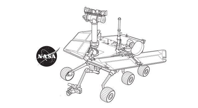 Los robots planetarios.