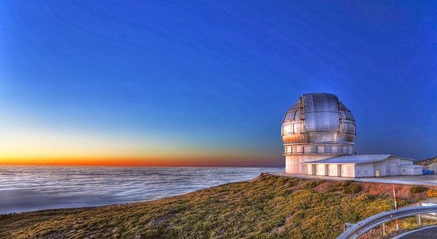 Los telescopios.