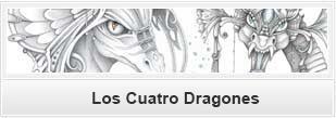 Los cuatro dragones
