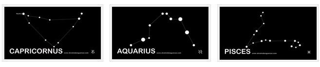 El cielo de sigüenza - Constelaciones