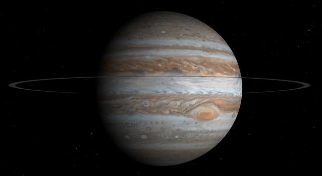 El cielo de sigüenza - Júpiter
