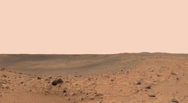 El cielo de sigüenza - Marte